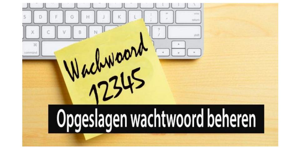 wachtwoorden beheren