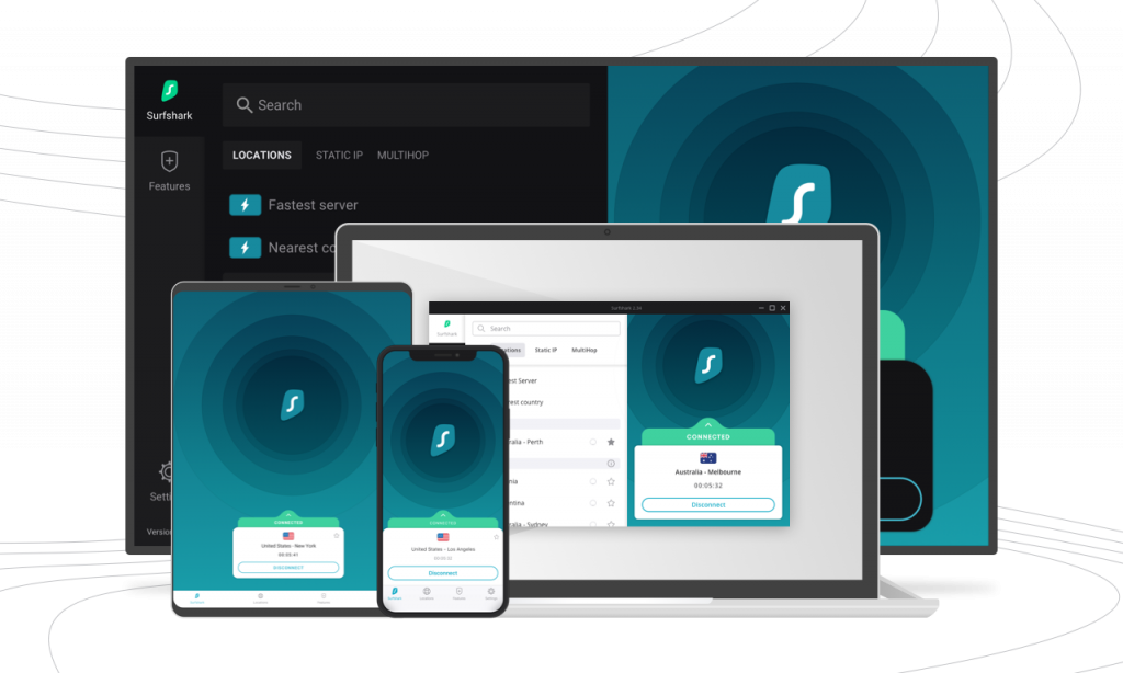 Surfshark Andere apps