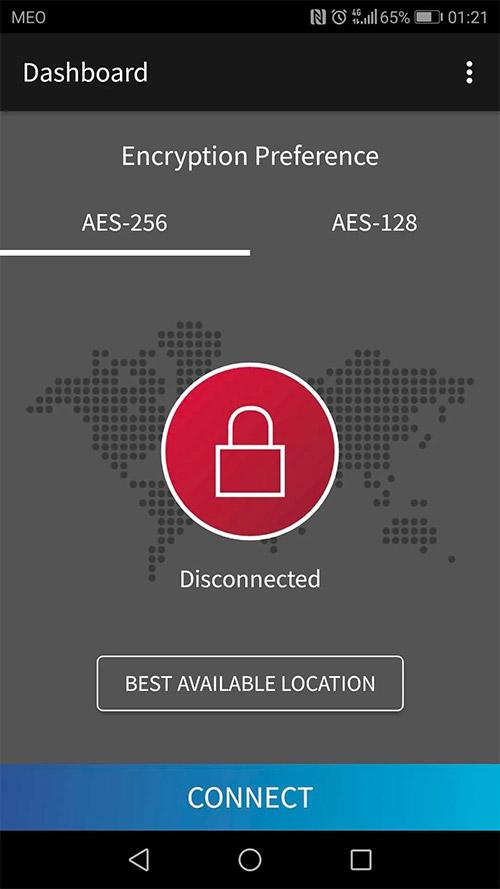 Sitelock VPN mobile