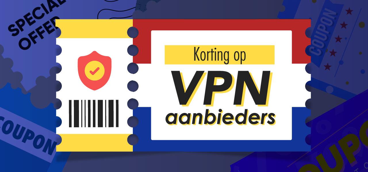 Korting op VPN aanbieders