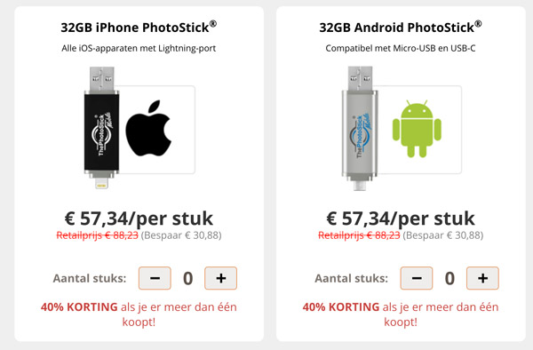 the photostick mobile prijs