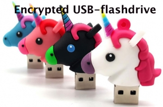 Encrypted USB-flashdrive | Een versleutelde USB-stick is extra beveiliging