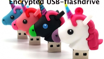 Encrypted USB-flashdrive   Een versleutelde USB-stick is extra beveiliging