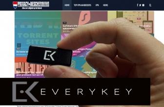 De password manager, geen wachtwoord meer vergeten lees daarom de Everykey review