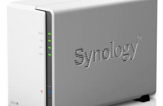 Een 2-bay versien van Synology DS215J