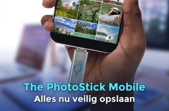 ThePhotoStick mobile, de toekomst voor foto en video back up!