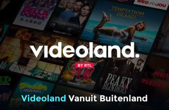 Videoland in het buitenland kijken 2021
